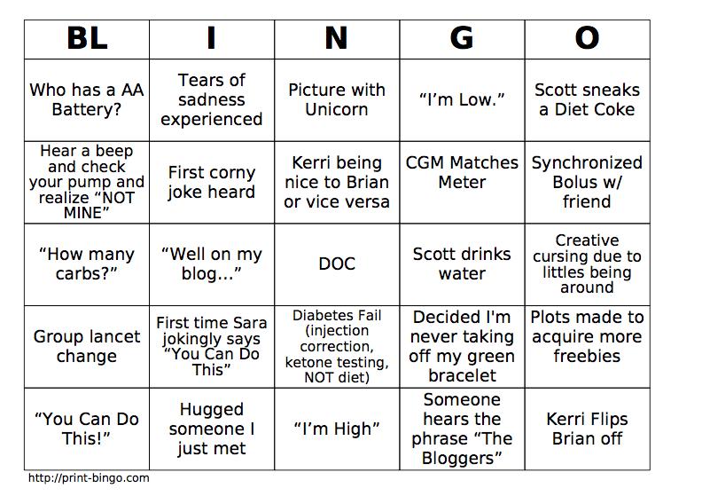 Wordless Wednesday: Blingo/ Bingo Cards | (Buzz, Buzz) Not My Cell